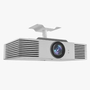 projector videos holder 3D model