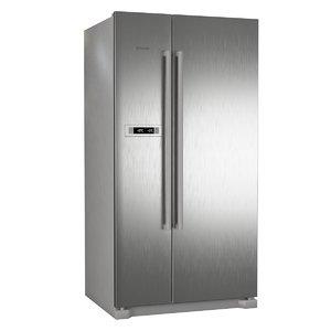 refrigerator bosch kan90vi20r 3D model