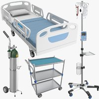 real medical equipment 3D model