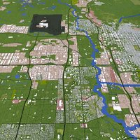 3D model salt lake city