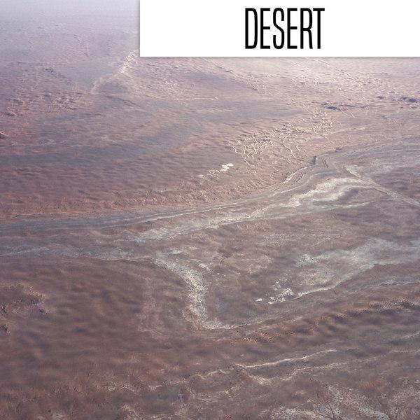 desert 3D model