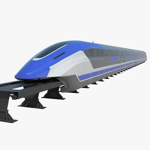 shanghai maglev train model