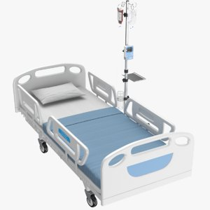 real medical bed model