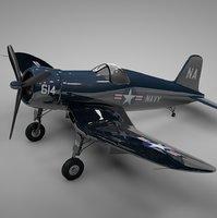 F4U Corsair Vought USA NAVY 614 L235