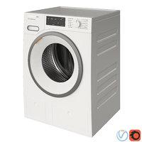 washing machine miele 3D model