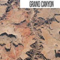 grand canyon 3D model