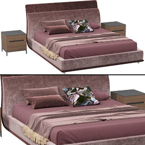 twils drop bed 3D model