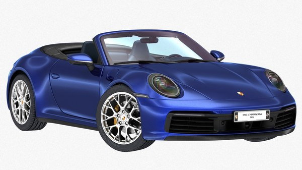 porsche 911 carrera 4s model