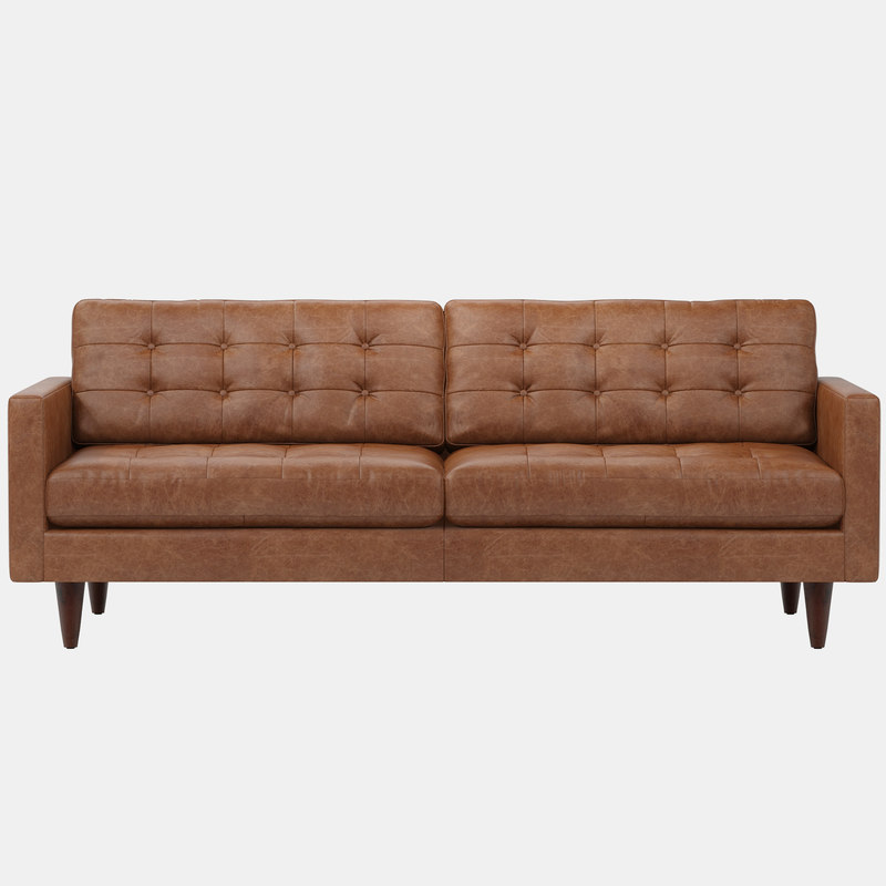 joybird eliot leather sofa 3D