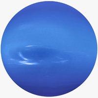 planet neptune 8k 3D model