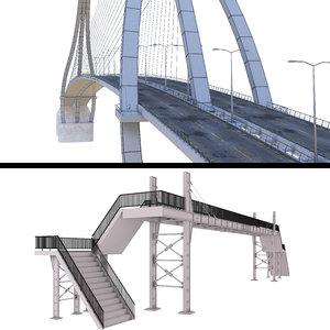 3D bridges 1 model