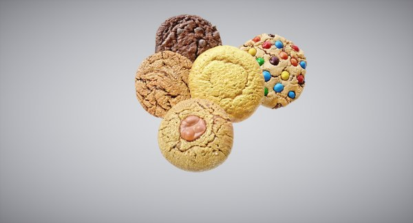 3D ready cookie
