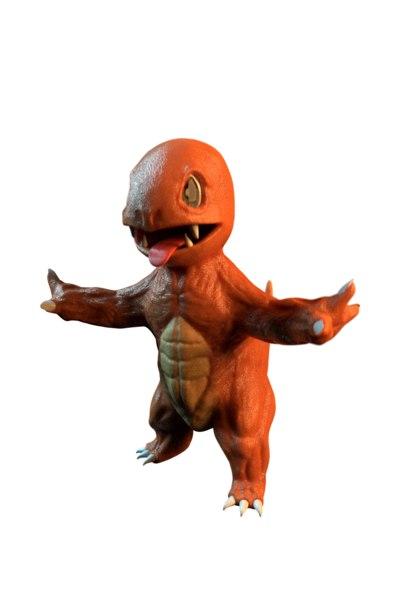 muscular charmander model