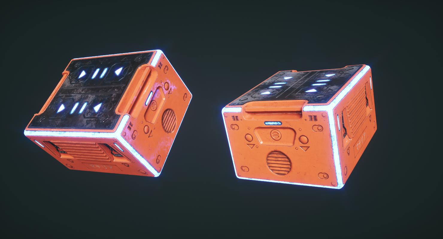 sci fi box tool 3D