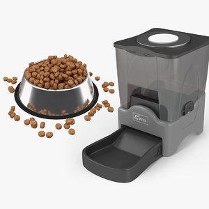 classic automatic animal feeders 3D model