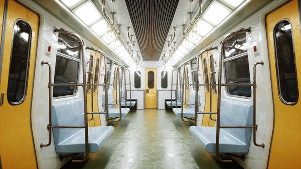 3D orbx scene subway interior