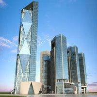 3D cityscape 2 model