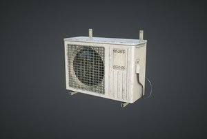 external air conditioner 3D