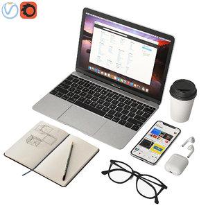 3D macbook 12