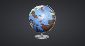 3D globe old new