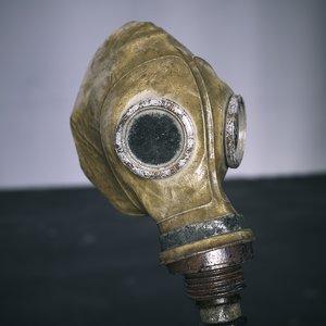soviet gas mask 3D model
