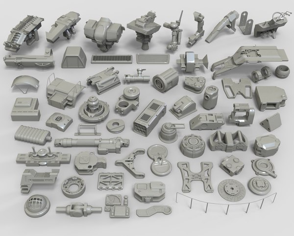 3D model kit bashes - 61