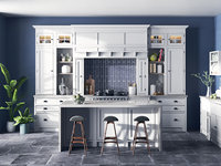 Ready to renderer Dantone kitchen first scene
