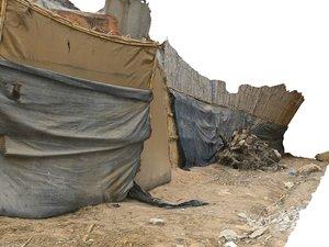 african slums scan 16k model