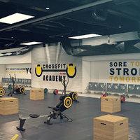 3D model crossfit gym