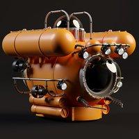 3D bathyscaphe