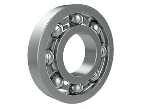 3D ball bearing model