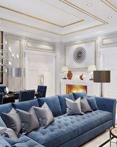 3D furniture corona