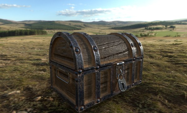 3D chest furniture model