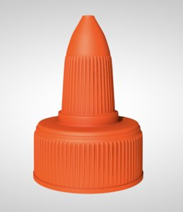 3D plastic screw cap