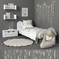 3D bed child model