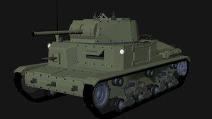 tank isometric carro model