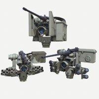 3D m153 crows ii dust model