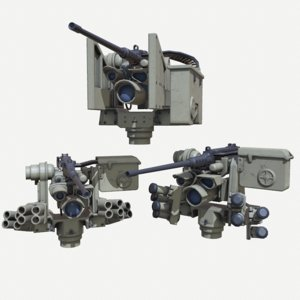 3D m153 crows ii dust model