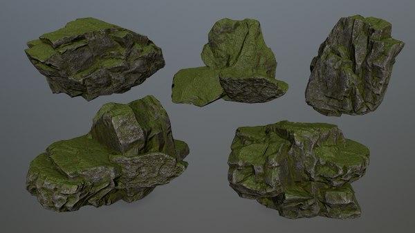 rock 5 3D model