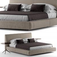 3D bed pillow model