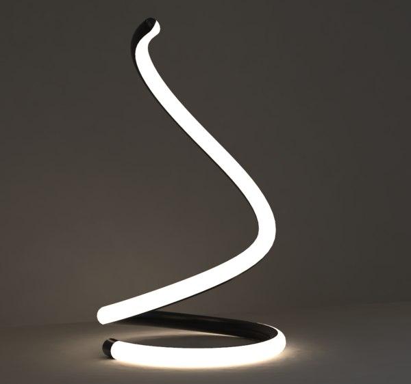 3D modern lamp 6 model