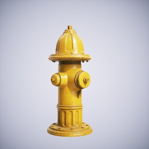 hydrant ready lightwave 3D