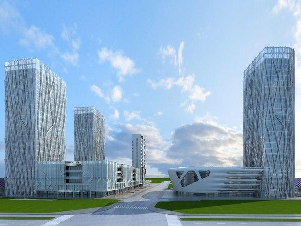 3D cityscape 6