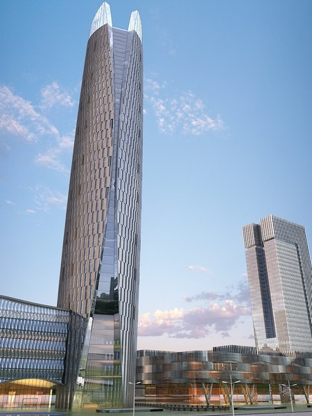 3D model cityscape 7