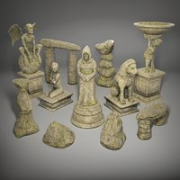 Statues rock pack