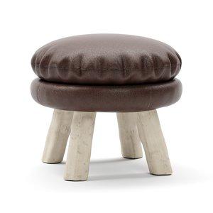 3D mattak stool