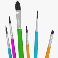 6 Brush Painting