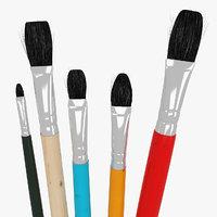 5 Brush Painting