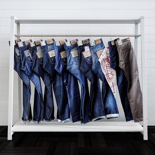 3D shop clothing fashion