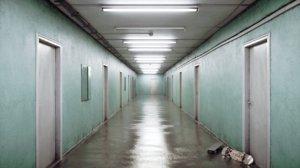 3D infinite corridor room model